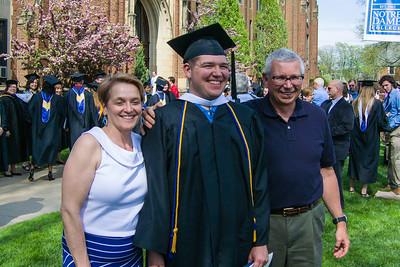 2014 Spencer Notre Dame Graduation