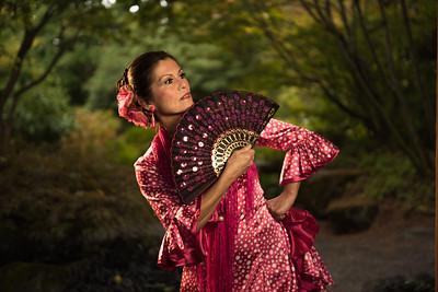 Flamenco at the Botanical Garden