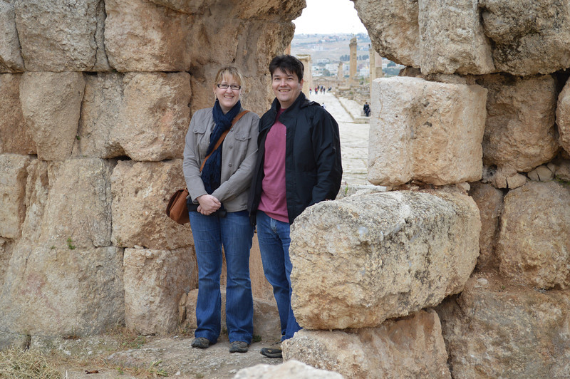 0095_Mike and AB at Jerash Forum.JPG