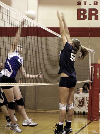 STA DPL Volleyball - STA vs St Bernard and POP (10/15/2011)