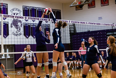 HS Sports - Stoughton Girls Volleyball [d] Oct 12, 2017