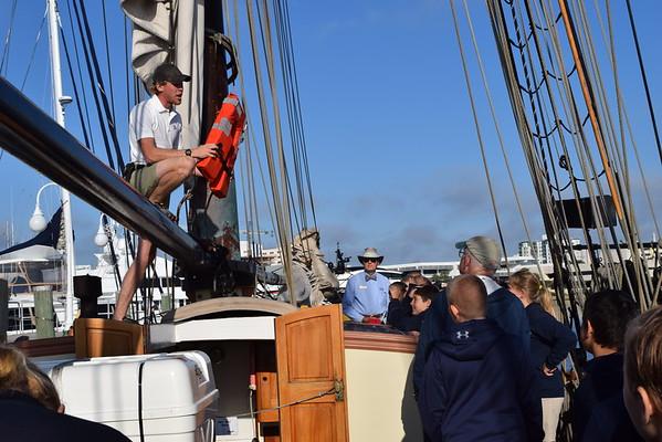 5th & 6th Grade Visit the Lynx Tall Ship