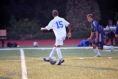 Boys Frosh Soccer 9-27-12