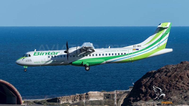 Binter Canarias / ATR 72-600 / EC-MVI
