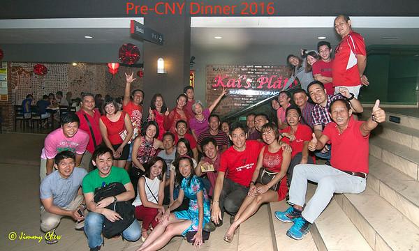 Pre-CNY Dinner at Kai's Plato 23-01-16