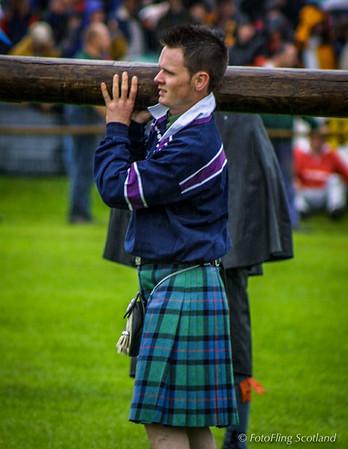 The 2001 Crieff Highland Games