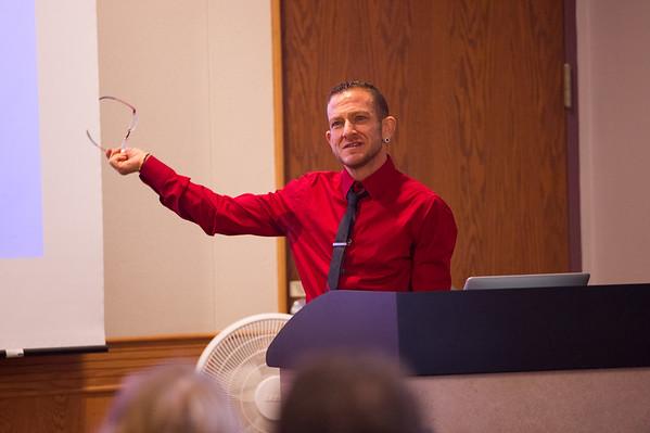 11/2/16 Trans Scholar SJ Miller Speaking to English Ed Students