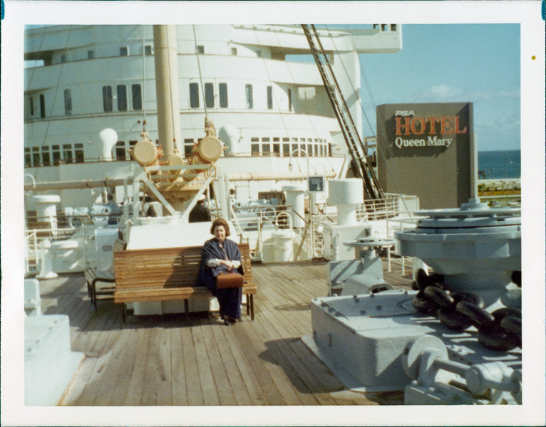 1973 Marie on Queen Mary.jpg