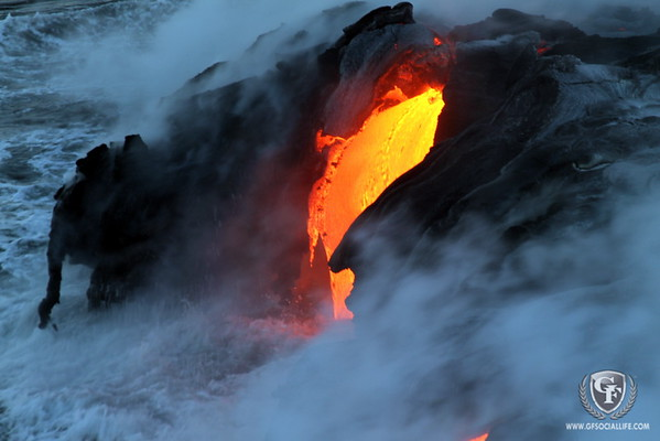 Kilauea's Lava Flow