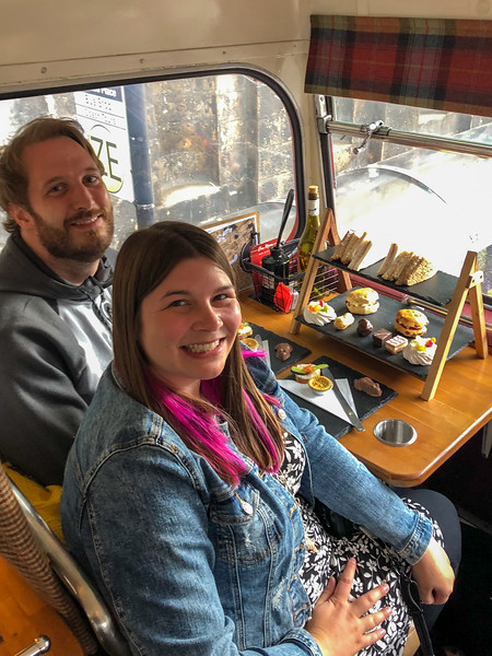 Harry Potter afternoon tea bus tour
