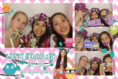 Madisyn's Graduation (Luxury Photo Booth)