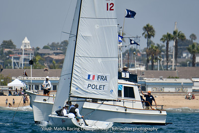 2021 Youth Match Racing Championship Tuesday