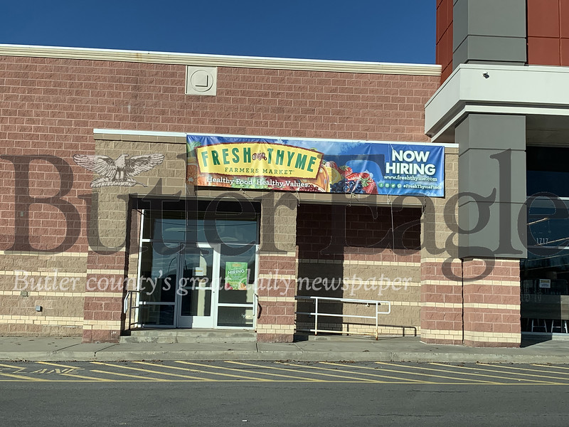 Fresh Thyme is a health food store opening in Cranberry Township in February.