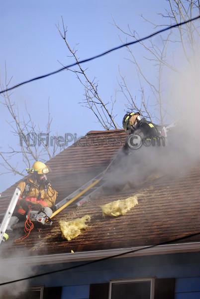 STANHOPE, NJ 10 HIGH ST.  HOUSE FIRE 2/17/09