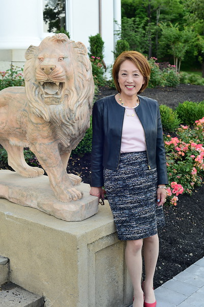 Sachiko Kuno, Cocktails at Selma Mansion, June 7, 2018, Nancy Milburn Kleck