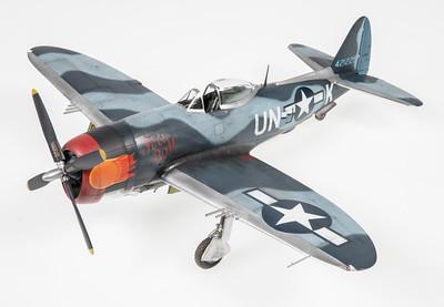 1/48 Tamiya P-47M Thunderbolt - Fireball
