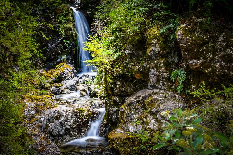 Arthur's Pass, Millenium Falls, NZ