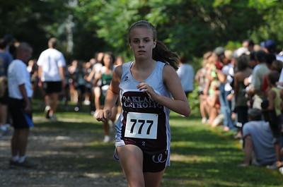 Girls JV Race