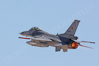 AFTERBURNER: Turkish Air Force Lockheed Martin F-16 Fighting Falcon Jet Fighter Afterburner Pictures