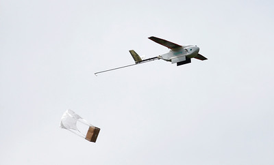 Zipline demonstrates its drone delivery service near San Francisco