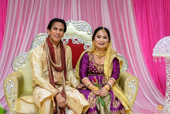 Debasish and Rose's Wedding Reception