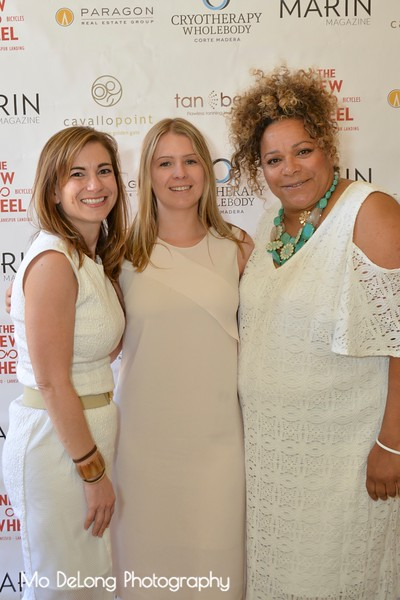 Megan Johnson, Charlotte Brice and Moreen Rosado