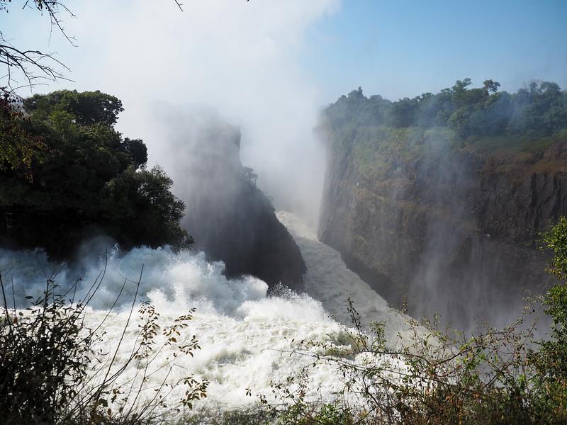 Victoria Falls at Devil's Cataract