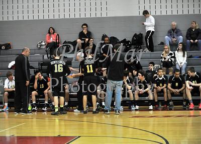 Berks Catholic vs Brandywine Boys High School Volleyball 2012 - 2013
