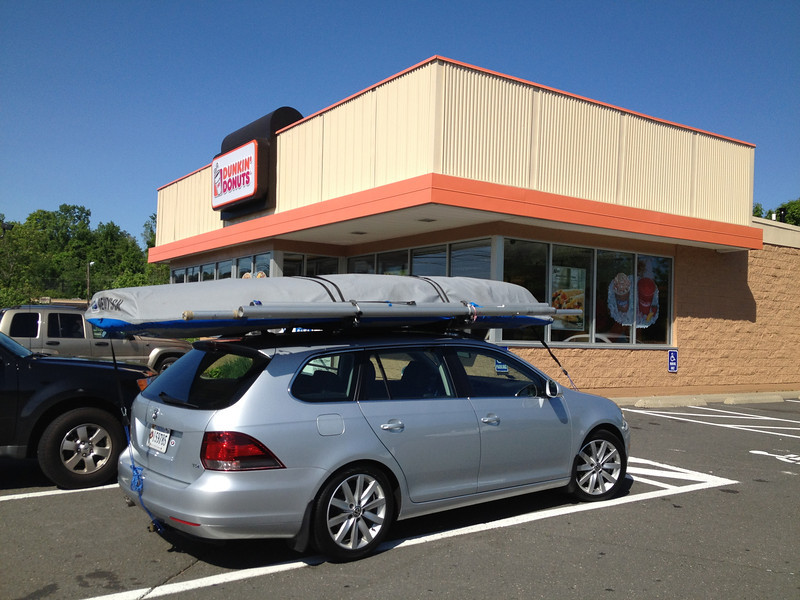 5/18 Stopping for breakfast on the way to Marblehead.