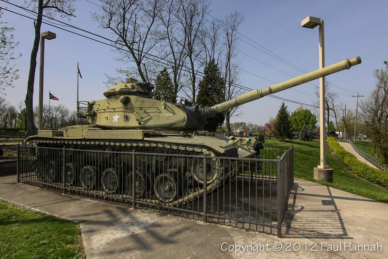 Green Township War Memorial - Cincinatti, OH - M60A3