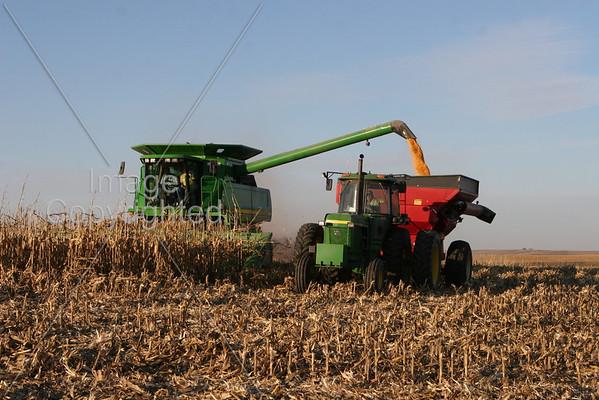 Kenny and Paul Lehman Farming 11-2-08