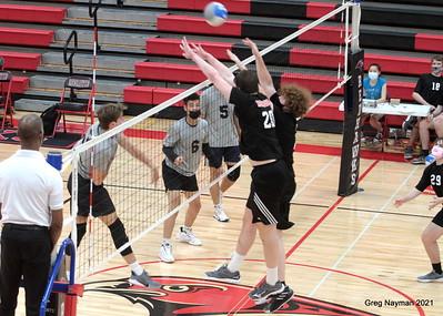 Volleyball Minnehaha v Roseville by Greg Nayman