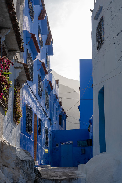 Morning light in Chefchaouen, Morocco