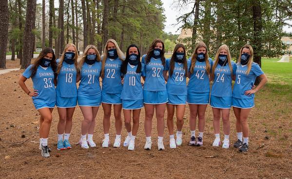 Girls Lax team shots