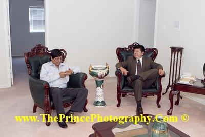 APML Dallas Lunch with President Pervez Musharraf