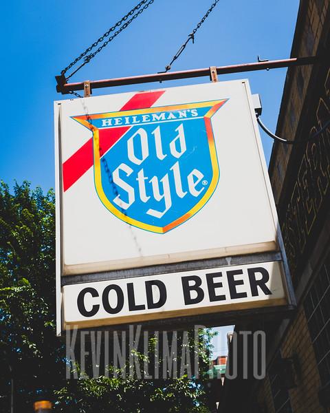 Old Style Sign @ Carol's Pub
