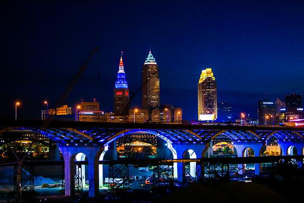 Cleveland RNC Week Sunrise