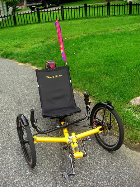 Tom's Trike, Ist ride, june 12, 2013. CIMG8803.JPG