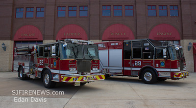 Mount Laurel Fire Co. (Burlington County) New Engine and Rescue