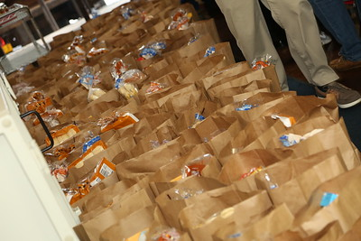 Donation of Thanksgiving meals. 11/20/2018
