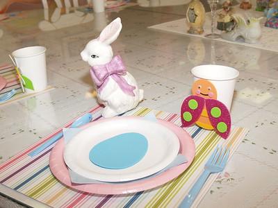 Olivia's Dollhouse Easter Brunch 2014