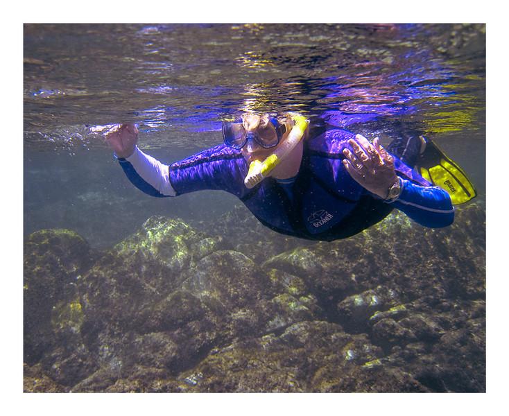 Beth Underwater