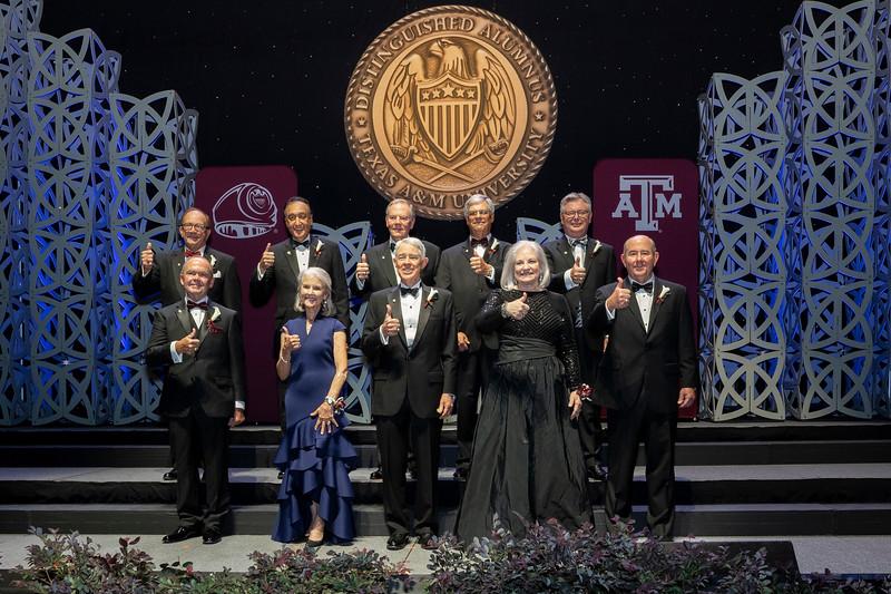 Pre-Program Distinguished Alumni Group Shots