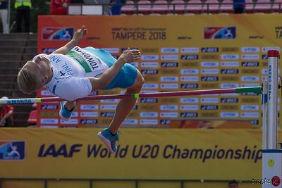 IAAF World U20 Championships Tampere Day 1