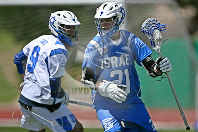 7/9/2014 - Israel's Blue vs White Exhibition Game - Legacy Stadium, Aurora, CO