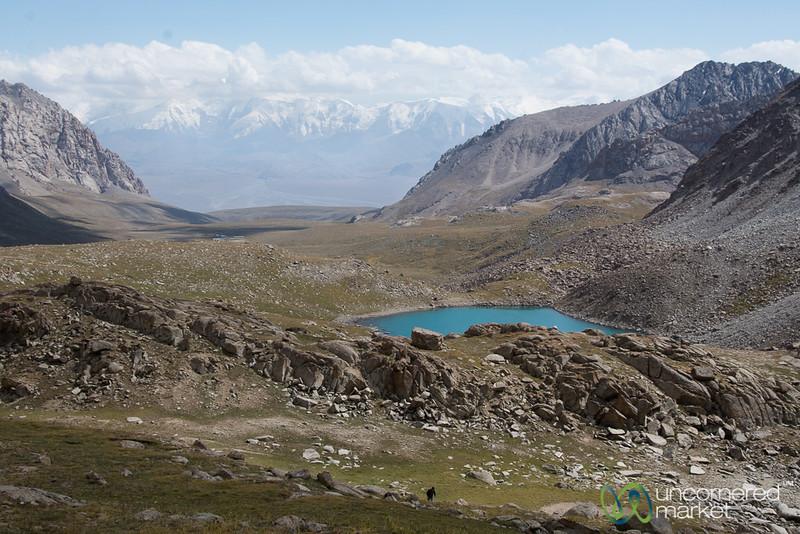 Koshkol Lakes Trek Views - Alay Mountains, Kyrgyzstan