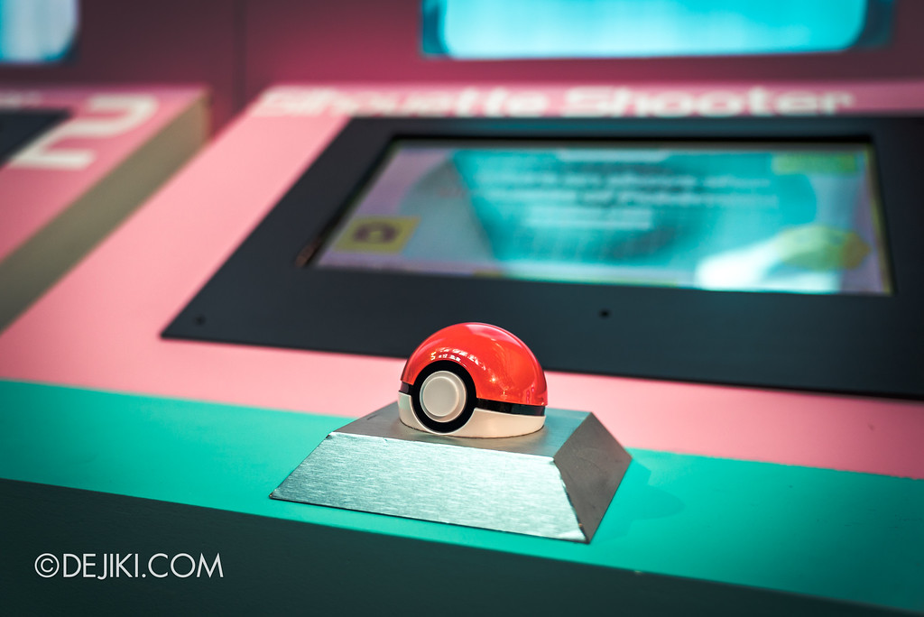 Pokémon Research Exhibition Launch -  Silhouette Shooter station