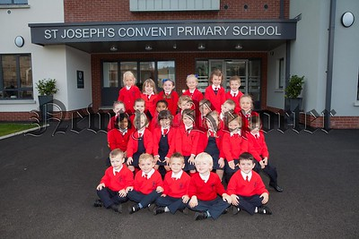 St Joseph's Convent PS Newry Primary 1 pupils 2016. R1638007