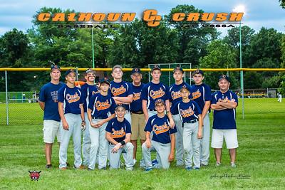 Calhoun Crush Team Photos