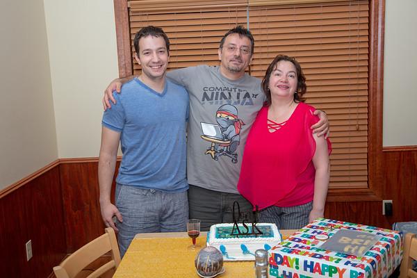 Celebrating Danutzu 51th Birthday